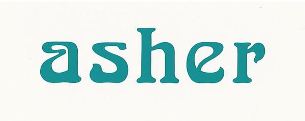 Asher Sticker